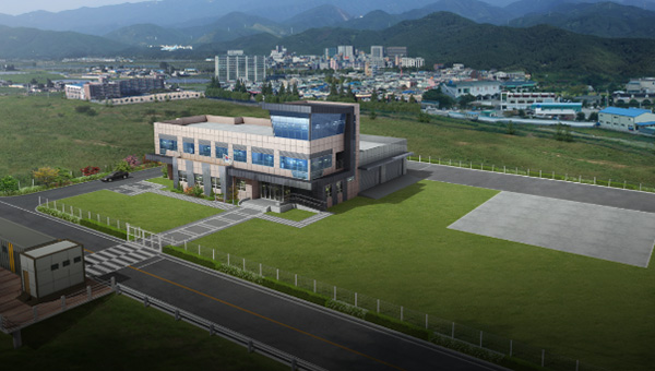 Operation and Control Center for Drone Flight Test (Yeongwol, Gangwon-do)